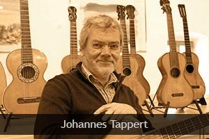 Johannes Tappert, inventor of ErgoPlay Tappert Guitar Rest