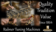 Rubner Tuning Machines