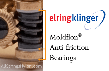 Rubner Moldflon antifriction bearings